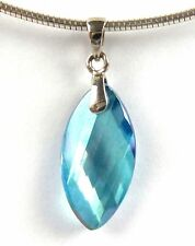 AQUA AURA  CRYSTAL PENDANT - Psychic Ability, Protection, Stress Release