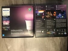 Philips Hue White and Color Ambiance E26 Bulb Starter Kit (471978)