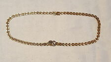 Gold Necklace Art Deco Costume Jewellery