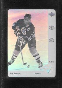 1991-92 UPPER DECK McDONALDS HOLOGRAM # 3 RAYMOND BOURQUE !!  A15