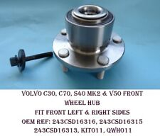 FOR VOLVO C30 C70 S40 V50 FRONT WHEEL BEARING HUB KIT BRAND NEW FAG 1.6/1.8/2.0L