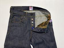 PRPS Japan Mens Raw Selvedge Dark Denim Jeans Size 28 x 33 $550