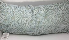 Tufted Luxury Spa Bolster Home Decor Pillow in Teal 16 x 36