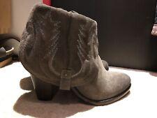 Catarina Martins Handmade womens western boots size 5 38 Brown New
