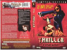 Thriller A Cruel Picture, OOP UNCUT Synapse DVD