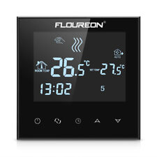 Floureon HY03WE-4 Programmable Large LCD Touch Screen Heating Thermostat