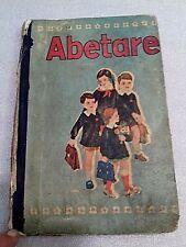 VINTAGE OLD ALBANIAN ABETARE BOOK-ELEMENTARY SCHOOL BOOK-1977