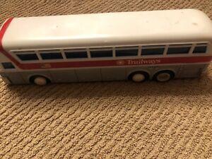 "Trailways Greyhound Maine Line Plastic Bus Banks 10"". Attic Finds"