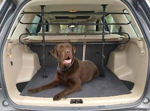 Pawamore Universal Car Boot Adjustable Pet Dog Guard for Hatchback, Estates, 4x4