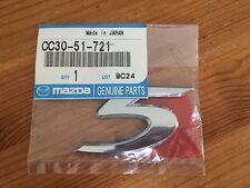 Emblème  MONOGRAMME SIGLE insigne motif  pour Mazda RÉF  CC30-51-721
