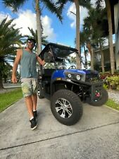 Vitacci Rover 200Cc Efi Blue+ Disc + Long Roof + Fold Down Seat + Street Legal
