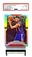 2019 Prizm SILVER REFRACTOR Suns TY JEROME Rookie Basketball Card PSA 6 EX-MT