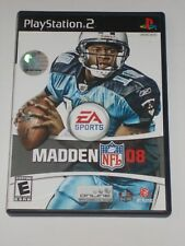 Playstation 2 PS2 Video Game Madden 08 Tested and Working