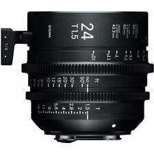 Sigma 24mm T1.5 FF High-Speed Prime (PL Mount) Cine Lens