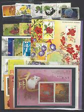 China Hong Kong 2008 年票 Whole Year Full Stamp Rat 鼠