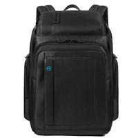 Piquadro Pulse Zaino 1 scomparto porta pc 15 iPad tessuto nero CA3826P16 N