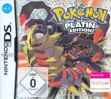 Nintendo DS 3DS POKEMON PLATIN EDITION DEUTSCH * Neuwertig
