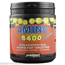 Prosport Hardcore Amino 6400, 400 Tabletten / 404g Dose