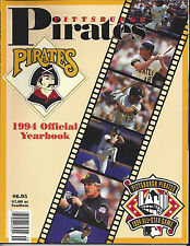 Pittsburgh Pirates 1994 Team Official Yearbook