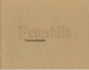 Peterbilt Conventionals Truck Brochure, 1979 (359, 353, 387 etc)