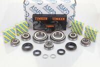 Vauxhall Zafira M32 Gearbox OEM Uprated Bearing & Seal Rebuild Kit 7 Bearings