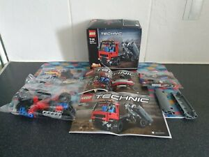 Lego Technic 42084 Hook Loader 2 in 1 Model 100% Complete With instructions