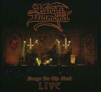 KING DIAMOND - SONGS FOR THE DEAD LIVE (CD+2 DVD) NEW CD