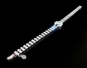 Zierliches Strass Armband, Crystal/Kristallklar, 1A-Qualität von Jablonex #808