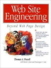 Web Site Engineering: Beyond Web Page Design, Powell, Thomas A. & Cutts, Dominiq
