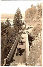 RPPC RP OR SHEPHERDS DELL COLUMBIA RIVER HIGHWAY GREAT EARLY CARS c1915-20