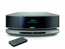 Bose Wave Soundtouch Music System IV Bluetooth Wifi CD MP3 AM/FM Platinum Silver