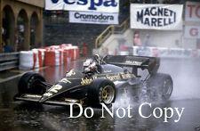Nigel Mansell JPS Lotus 95T Monaco Grand Prix 1984 Photograph 3