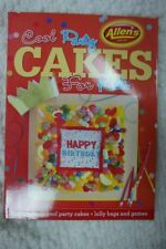 ALLEN'S COOL PARTY CAKES FOR KIDS by Allen's paperback cook book 2014 NEW