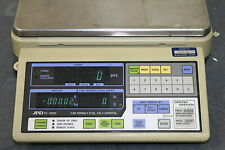 "A & D FC-2000 High Resolution Computing Scale ""No Power Adapter"""
