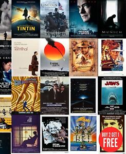 Steven Spielberg's Film, Movie Posters A0-A1-A2-A3-A4-A5-A6-MAXI in sizes C457