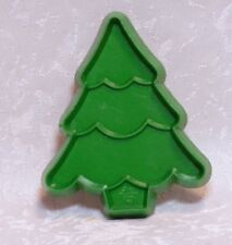 Hallmark Vintage Plastic Cookie Cutter - Petite Undecorated Christmas Tree Pine