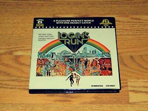 Logan's Run 1976 Super 8 / 8mm Color Film & Sound Original Box - Farrah Fawcett