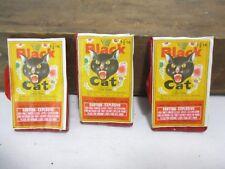 Vintage Black Cat Firecracker Label