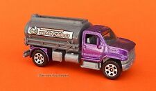 2008 Matchbox Loose 2006 Utility Truck Metalflake Purple Agroblo Combine Ship