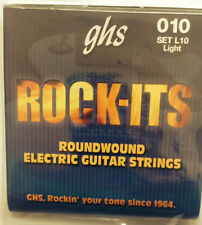 ROCK-ITS ELECTRIC 010 1 SET L10 GUITAR STRINGS ghs