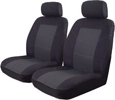 Tailor Made Charcoal Grey Seat Covers for Holden Barina Hatch from 2006 - ON