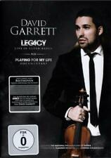 Legacy - Live In Baden Baden - David Garrett - DVD + Doku PLAYING FOR MY LIFE