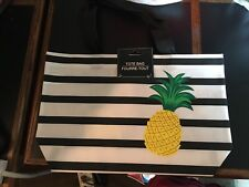 New With Tags Striped Fashion Tote Bags Tote Bag Beach Pool Summer