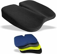 Coccyx Seat Cushion Pain Support Orthopaedic Lumbar Back Wedge Car Office Chair