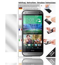 6x Displayschutzfolien für HTC One Mini 2 Schutzfolie Klar Folie Displayfolie