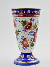 Clamecy faience mazagran R.Colas French ceramic