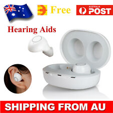 Mini Rechargeable Aid Invisible Hearing Aids Digital Adjustable Sound Amplifier