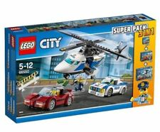 LEGO City-Police Super Pack 3 Pack 11 MINI FIGURES - 66550 - 60136 60137 60138