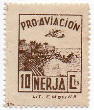 Sello Local Guerra Civil Nerja -Cat. Galvez 517.  ORD:1874