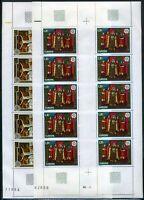 Andorra Kleinbögen MiNr. 264-65 postfrisch MNH Cept 1975 (GF14312